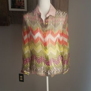 Carven silk blouse